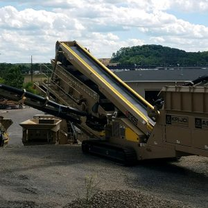2018 AMS-KPI-JCI GT205 Multi-Frequency Track, 2 Deck Screener