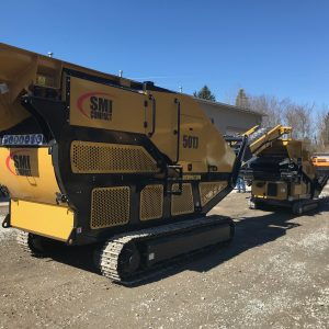 2019 SMI Compact 50TJ Tracked Jaw Crusher